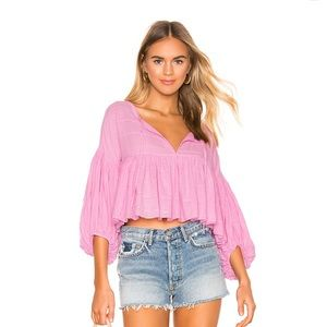 Free People Light Weight Blouse